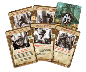 The Al'oonis, will come with a special set of 6 cards. - Les Al'oonis viendront avec un set spécial de 6 cartes.