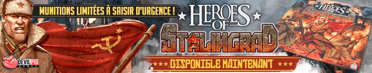 Heroes of Stalingrad Disponible dès maintenant !