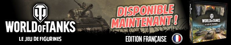 World of Tanks Le jeu de Figurines édition Française